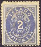 アイスランド1番切手