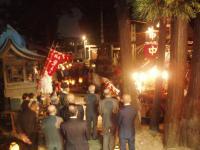 秋葉社夜祭H201013