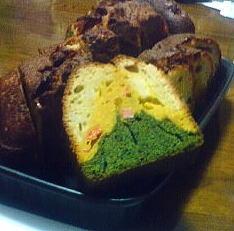 野菜のパウンドケーキ