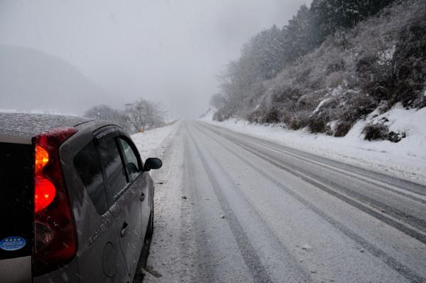 大原湖雪景色・冠梅園 136