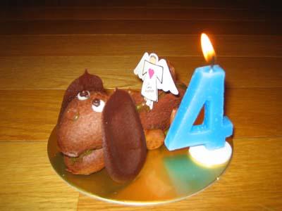 ワンコちゃんケーキ