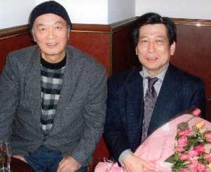 青井先生とお名前失念の小説家のセンセイ