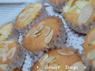 アーモンドカップケーキ