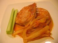 豚肉のフェンネル煮(トマト風味)