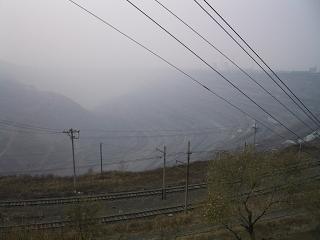 石炭露天掘り