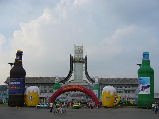 2006撫順天湖ビール美食文化広場1