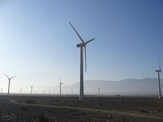 ウルムチ風力発電1