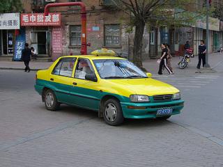 撫順のタクシー1