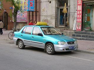 撫順のタクシー2
