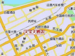 天宝大酒店地図