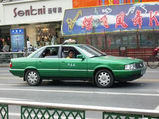 南京のタクシー