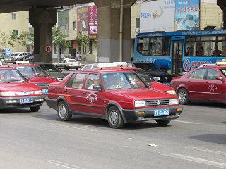 瀋陽のタクシー1