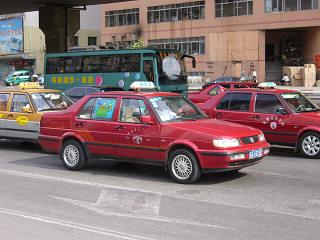 瀋陽のタクシー2