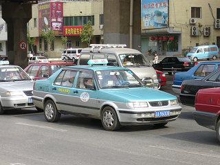 瀋陽のタクシー3