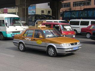瀋陽のタクシー4