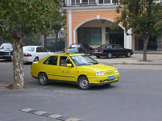 淮南のタクシー