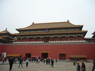 北京故宮、午門
