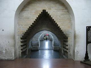明十三陵(定陵)、地下宮殿