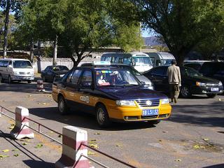 北京のタクシー1
