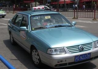 上海のタクシー、大衆