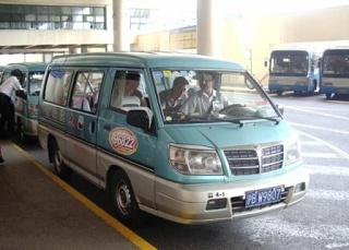 上海のタクシー、大衆面包