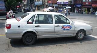 上海のタクシー、錦江