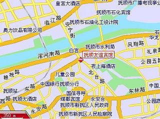撫順友誼賓館地図