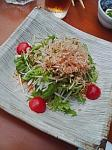 京水菜のサラダ