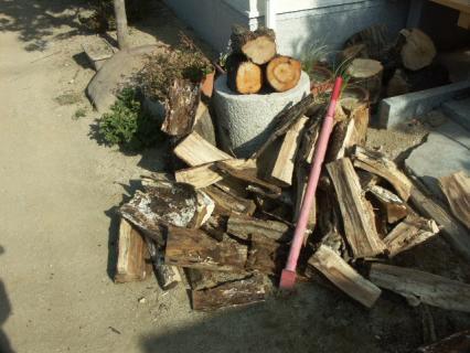 薪割り-さらに