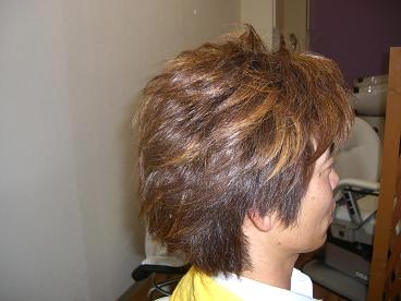 2008.6.8.二日のヘアカラー1