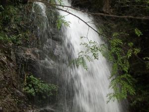 払沢の滝(上部)