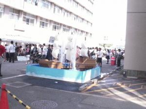 第61回くすのき祭ー帆船