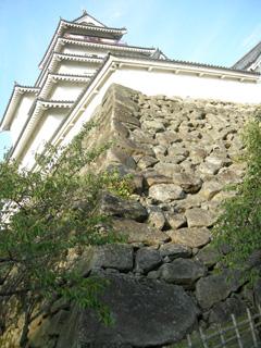 6.鶴ヶ城石垣