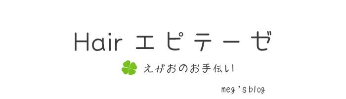 Hair エピテーゼ   えがおのお手伝い   meg`s blog