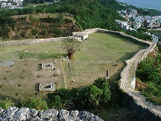 勝連城跡,世界遺産