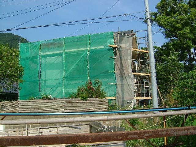 K邸外壁塗装替え