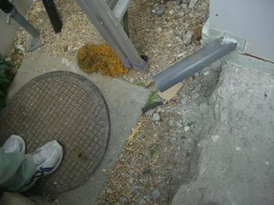 H間邸 雨水排水工事