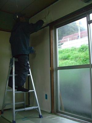 某社宅壁塗装