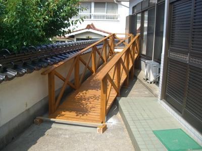 M瀬邸住宅改修~屋外スロープ