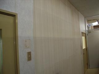 壁ビニールクロス補修