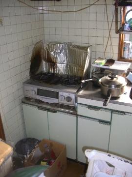 E口邸浴室リフォーム・オール電化工事~IHヒーター・洗濯機取付
