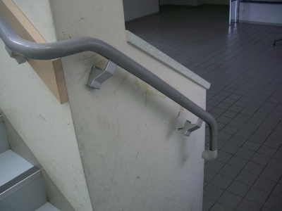 階段手摺補修