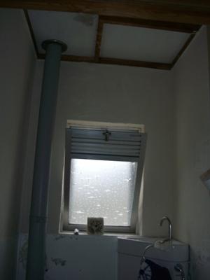 某公舎 トイレ壁塗装替え他工事